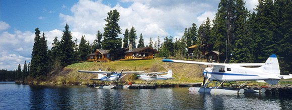 Stewart's Lodge & Camps on Nimpo Lake