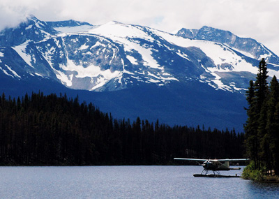 Scenic Float Plane at Nimpo Lake
